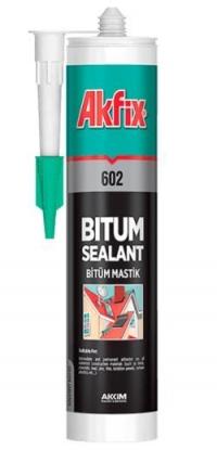 битумный герметик для кровли Akfix  310 мл