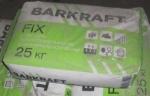 клей Barkraft FIX для пенополистирола 25 кг