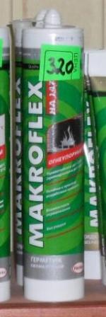 герметик огнеупорный чёрный Makroflex 300 мл